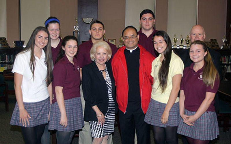 Father Allain Caparas appointed principal of Saint Joseph High School, Hammonton