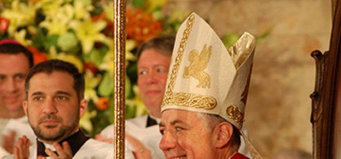 James Checchio installed as 5th Bishop of Metuchen