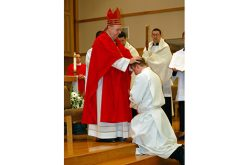 Rev. Mr. Adam Cichoski ordained to the transitional diaconate