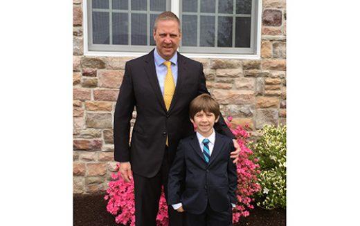 Like father, like son; or maybe, like son, like father