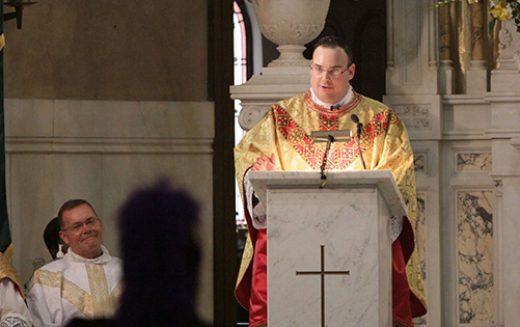 Bishop Sullivan ordains Father Edward Kennedy