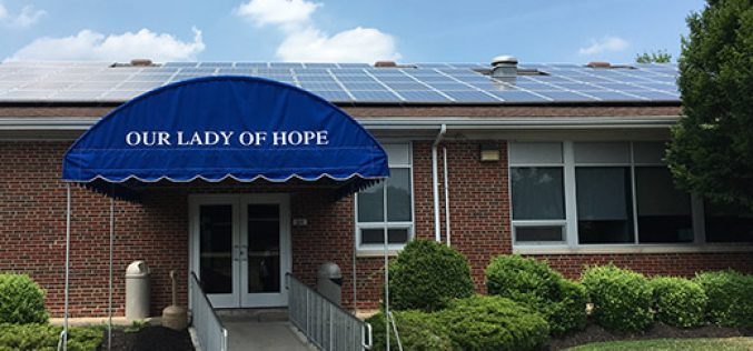 Solar Program to roll out across the diocese this year