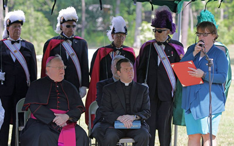 Bishop dedicates expanded Gate of Heaven Cemetery