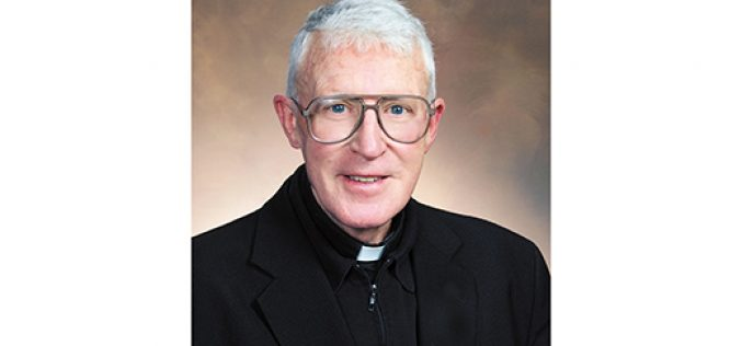 Father Francis Patrick Gaffney, retired pastor and educator, dies