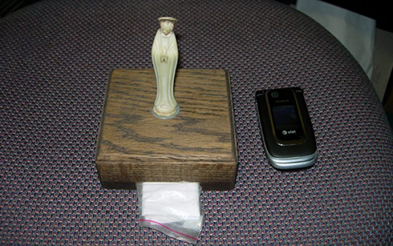 Small statue was a constant reminder of God's presence