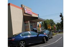 A glimpse of the Divine at the Dunkin' Donuts drive-thru
