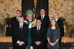 Mass welcoming new seminarians