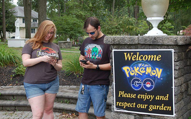 Prayer garden welcomes Pokemon players