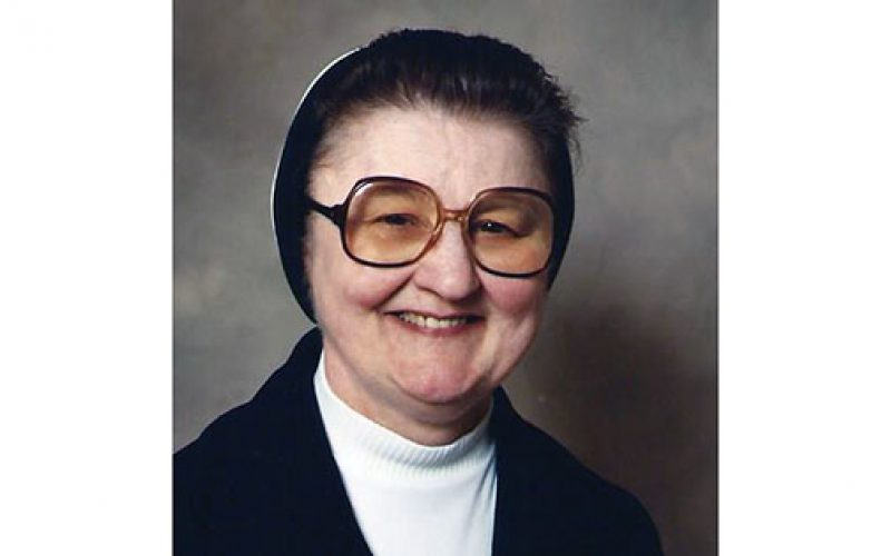 Sister Virginia Pace, taught in Merchantville and Hammonton