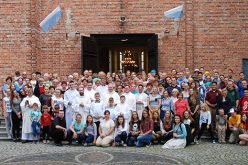 Local pilgrims amid the world's young Catholics