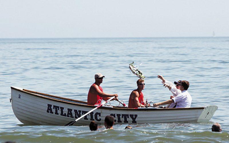 A city celebrates its wedding to the sea