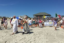Marian devotion on the ocean's edge