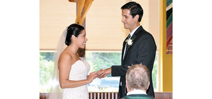 Saying 'I do' during Sunday Mass