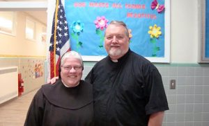 Father Dave Grover and Sister Jerilyn Einstein