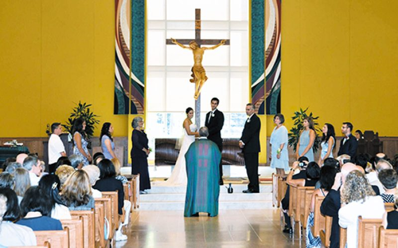 The importance of the church wedding