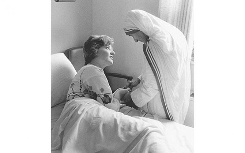Mother Teresa and Eileen Potts
