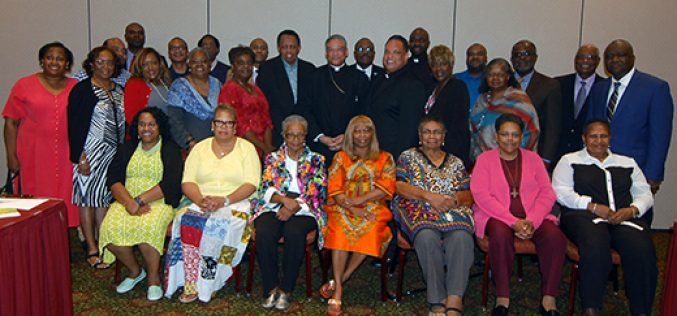 National black Catholic leaders gather in Mount Laurel