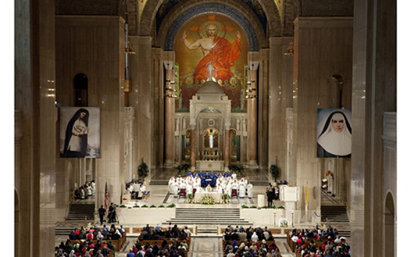 Pilgrimage to the Basilica of the National Shrine of the Immaculate Conception