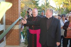 Parish center dedication