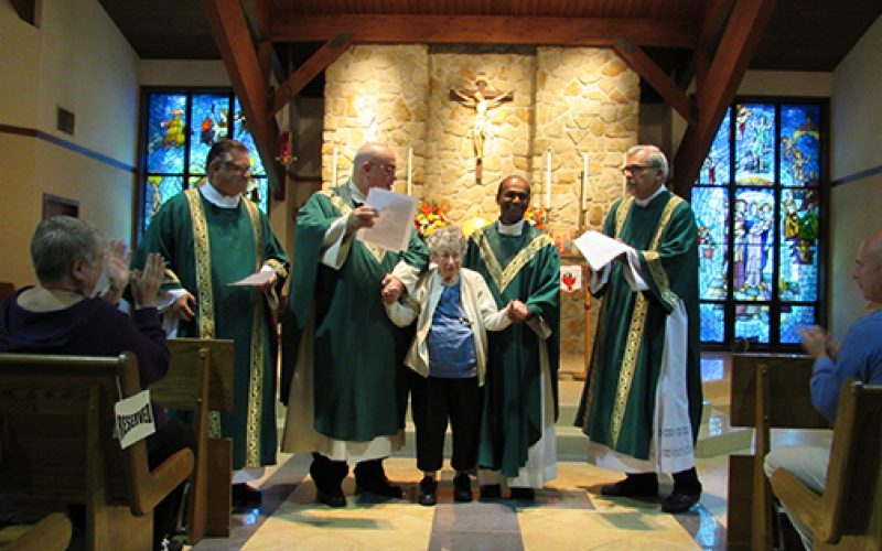 Holy Family celebrates a special centenarian birthday