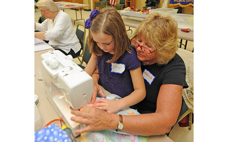 Making a difference a stitch at a time
