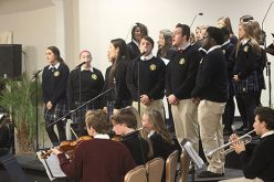 Students prepare for Christmas Amore concert