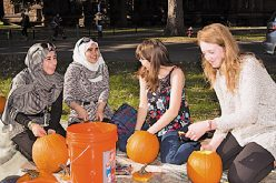 Princeton students and refugee youths come together through Religious Life program