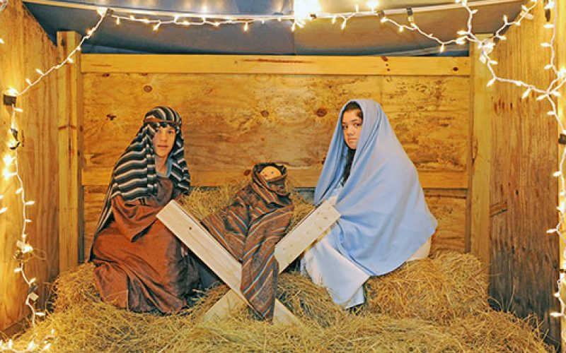 Bringing the Christmas story to life