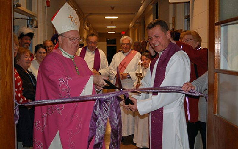 Blessing of parish hall