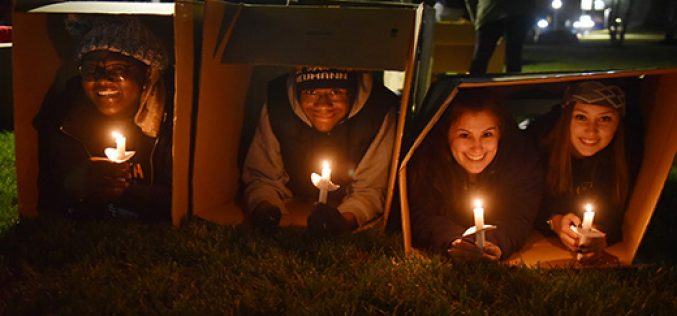 Sleep out for homelessness