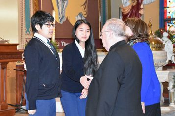 Bishop opens Catholic Schools Week in Camden