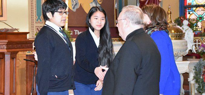 Bishop opens Catholic Schools Week in Camden