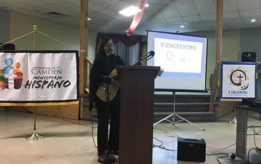 Líderes parroquiales se reúnen en Vineland para el próximo V Encuentro