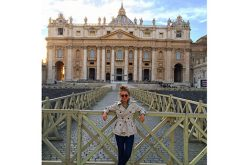 Pope Francis appeared on the balcony of Saint Peter's, and I went to Rome