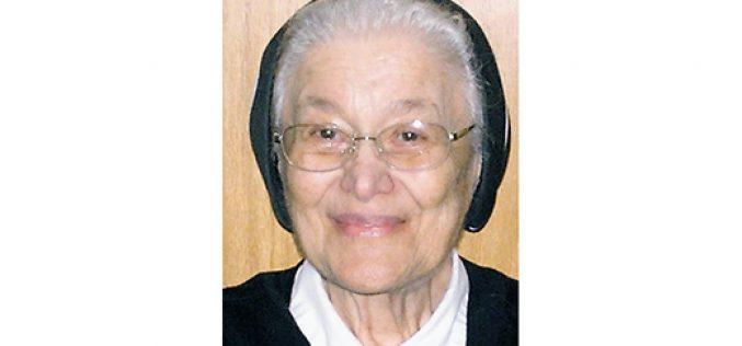 Filippini Sister Josephine Calo dies