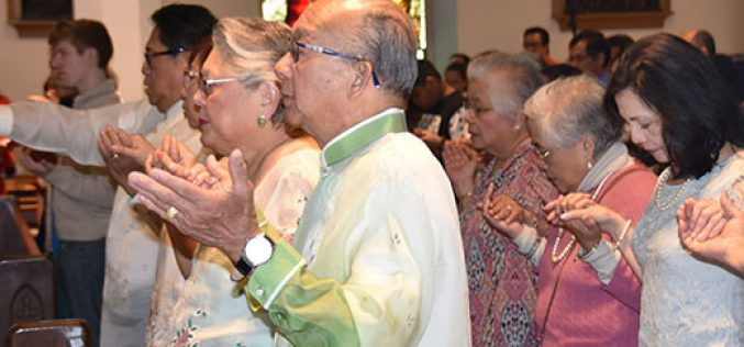 Filipino Catholics gather to honor martyrs
