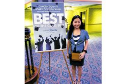 Refugee honored as 'Most Courageous Student'