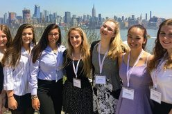 OLMA girls compete at stock market competition
