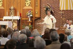 Father Cichoski's ordination, first Mass
