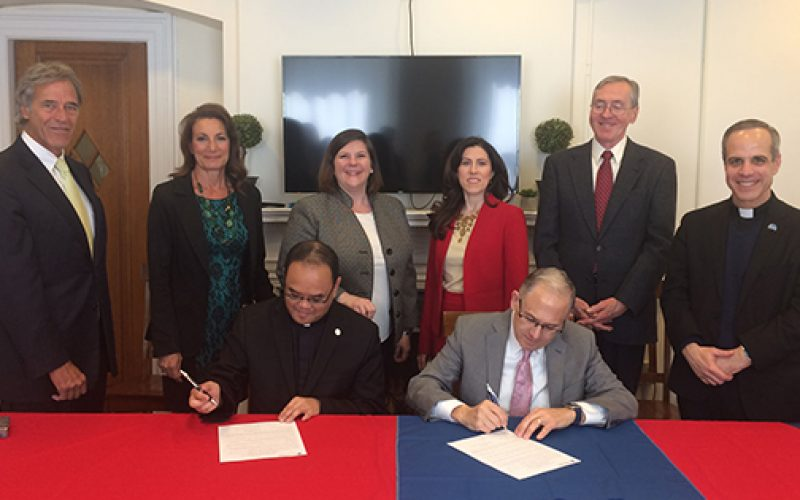 Saint Joseph partners with Saint Peter's University