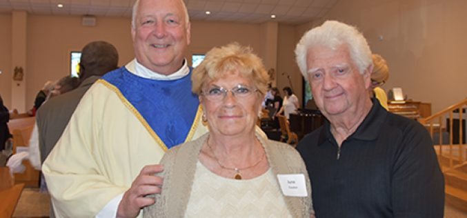 Diocesan Anniversary Mass couples