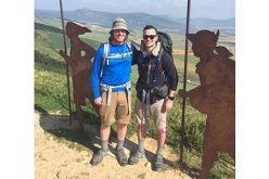 Seminarians making the Camino de Santiago