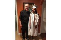 The faith and hope of a recent graduate, the daughter of Mexican immigrants