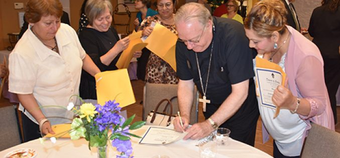 Recognition for Lay Ministry Formation graduates