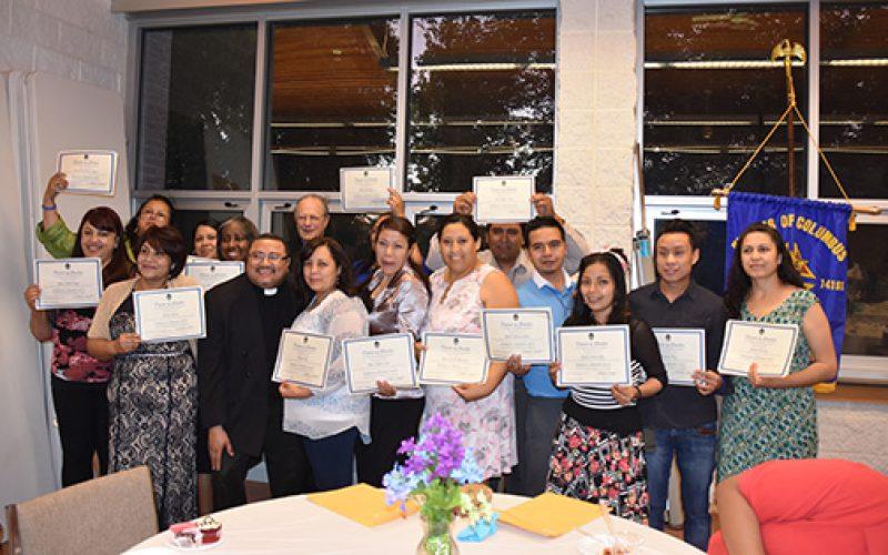 Reconocimiento para graduados del Programa del Ministerio para la Formación de Laicos
