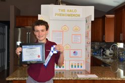 Student hopes halo proves his science credentials