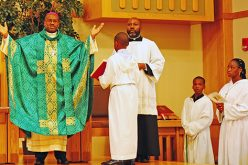 Bishop from Haiti visits