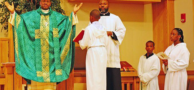 Bishop from Haiti visits