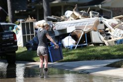 Catholic Charities workers depart for Houston
