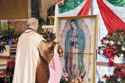 The feast of Our Lady of Guadalupe